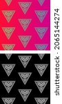 traditional asian  indian motif ...   Shutterstock .eps vector #2065144274