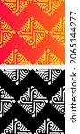 traditional asian  indian motif ...   Shutterstock .eps vector #2065144277