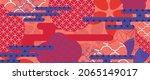 modern oriental style...   Shutterstock .eps vector #2065149017
