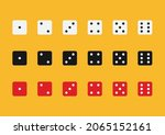 dice in flat style design from...   Shutterstock .eps vector #2065152161