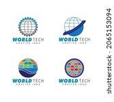 technology logo template vector ...   Shutterstock .eps vector #2065153094