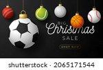 sport christmas sale banner....   Shutterstock .eps vector #2065171544