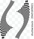 checkered background design ...   Shutterstock .eps vector #2065185821