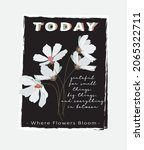 today typography fashion slogan.... | Shutterstock .eps vector #2065322711