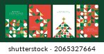 merry christmas happy new year... | Shutterstock .eps vector #2065327664