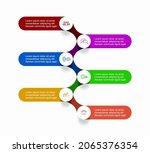 infographic design template... | Shutterstock .eps vector #2065376354