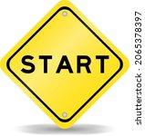 yellow color transportation... | Shutterstock .eps vector #2065378397