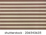 cherry stripe masking tape | Shutterstock . vector #206543635