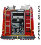 Water And Foam Pump Engine In...