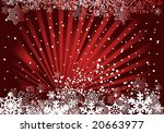 red christmas background ... | Shutterstock .eps vector #20663977