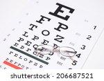 Pair Of Glasses On An Eyesight...