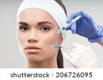 closeup portrait of young... | Shutterstock . vector #206726095