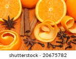 Oranges And Christmas Spices I...
