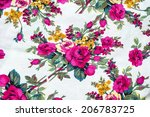 texture  print and wale of... | Shutterstock . vector #206783725