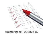 market customers survey... | Shutterstock . vector #20682616