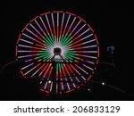 los angeles  usa   january 30 ... | Shutterstock . vector #206833129