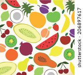 vector collection of various...   Shutterstock .eps vector #206897617