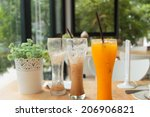 orange juice | Shutterstock . vector #206906821
