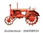 Old Vintage Farm Tractor...