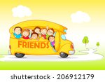 vector illustration of children ... | Shutterstock .eps vector #206912179