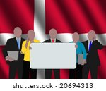 danish business team with...   Shutterstock . vector #20694313