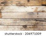 old wood texture | Shutterstock . vector #206971009