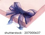 a paper napkins on the white... | Shutterstock . vector #207000637