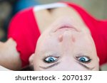 tightly cropped portrait of an... | Shutterstock . vector #2070137