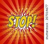 Stop    Comic Speech Bubbles...