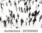 rush hour | Shutterstock . vector #207020365