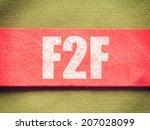 Постер, плакат: F2F Face To