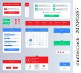 flat ui pack   web design