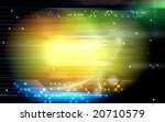 digital illustration of digital ... | Shutterstock . vector #20710579