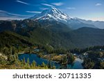 View Of Mount Rainier With A...