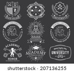 vector badges for any use | Shutterstock .eps vector #207136255
