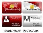 modern business card template...