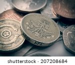 Detail Of British Pound Gbp...
