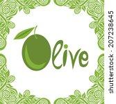 olive illustration | Shutterstock . vector #207238645