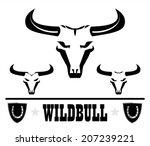 Wild Bulls  Three Wild Bulls...