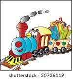 steam train illustration   Shutterstock .eps vector #20726119