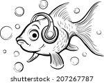 Whiteboard Drawing   Goldfish...