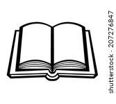 book vector icon | Shutterstock .eps vector #207276847
