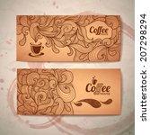 coffee concept design | Shutterstock .eps vector #207298294