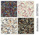 bright seamless set | Shutterstock .eps vector #207300421