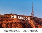 los angeles  ca   november 22 ... | Shutterstock . vector #207328105