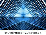 metal structure similar to...   Shutterstock . vector #207348634