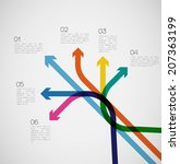 different way infographics  ...   Shutterstock .eps vector #207363199