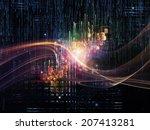 light of logic series. design... | Shutterstock . vector #207413281