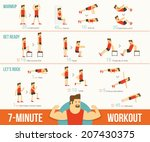 workout | Shutterstock .eps vector #207430375