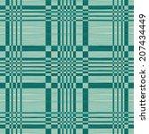 geometric retro pattern | Shutterstock .eps vector #207434449